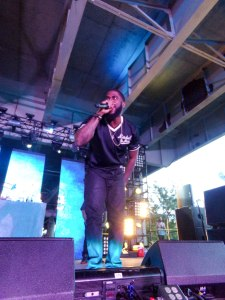 Big K.R.I.T. brings all the energy, but struggles to inspire his audience to bring it back at Forecastle Festival.